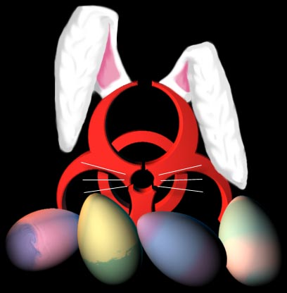 The bioland Easter graphic