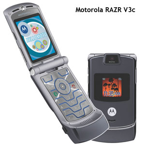 The Motorola RAZR V3c