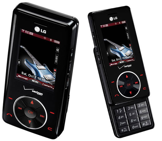 The LG Chocolate - sexy beyond compare.