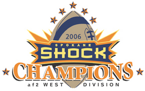 Spokane Shock are the Champs!