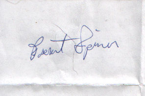 I got Brent Spiners autograph