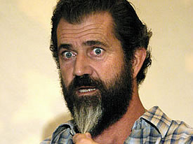 Mel Gibson and his lovely beard