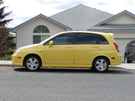 2003 Suzuki Aerio - all sexxy and stuffs