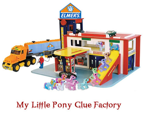 My Little Pony Glue Factory