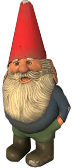 That damn garden gnome from Half-Life 2 EP2… I hate it!
