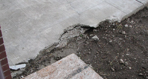 My broken Driveway