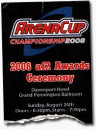 2008 AF2 Awards Ceremony